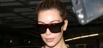 Kim Kardashian Instagrams her slimmed-down body: real, chopped or 'Shopped?