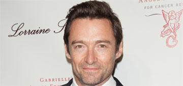 Hugh Jackman rocks a modified 80s mullet: would you still hit it?