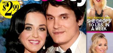 L&S: Katy Perry & John Mayer plan secret Hawaiian wedding, she's preggers