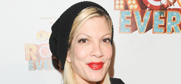 Tori Spelling got a bandaid puppy, she & Dean are 'leading separate lives'
