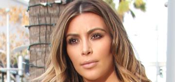 Kim Kardashian denies Photoshopping her butt selfies, also denies the weave