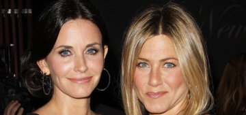 Jennifer Aniston 'reconciled' with Courteney Cox when Jen needed something