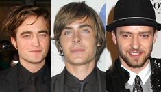 Justin Timberlake and Zac Efron jealous of Robert Pattinson's career