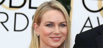 Naomi Watts in Tom Ford at the Golden Globes: one of the best or overrated?