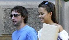 James Blunt and Petra Nemcova Split