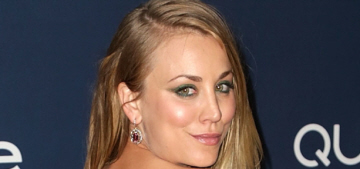 Kaley Cuoco versus Zooey Deschanel at the Globes: who won the Twee-Off?