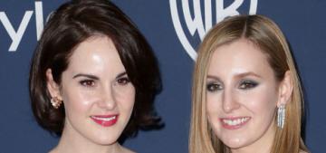 Michelle Dockery, Laura Carmichael at the Globes: did the 'Downton' girls look fab?