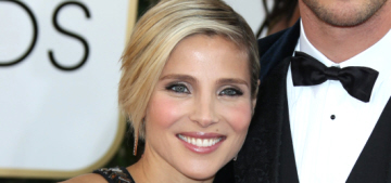 Elsa Pataky was also at the Golden Globes, someone pay attention to her!