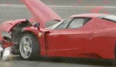 Like Eddie Griffin, Simon Cowell also ruined a new Ferrari & is dumping it