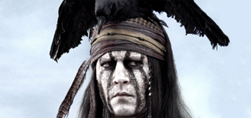 """""""Johnny Depp & 'The Lone Ranger' swept the Razzie nominations"""" links"""