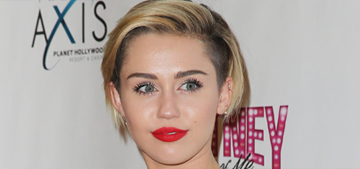 Miley Cyrus got a new bowl haircut: cute or too monk-like?