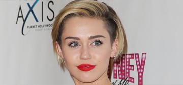 Miley Cyrus got a new bowl haircut: cute or too monk-like?