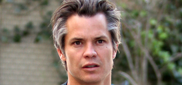 Timothy Olyphant on rural America: 'I hate to tell you, but racism is alive & well'