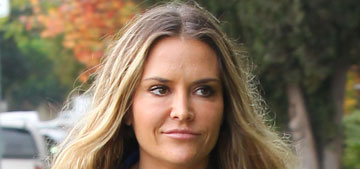 Charlie Sheen's other ex, Brooke Mueller, let the twins visit him & his new girlfriend
