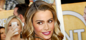 Sofia Vergara and the ladies of Modern Family at the SAGs: same old or gorgeous?