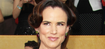 Juliette Lewis in Vivienne Westwood at the SAGs: stunning or way too wacky?