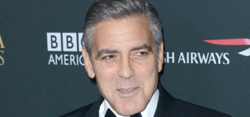 George Clooney is renting himself out for money, he's already made $540,000
