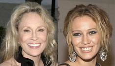 Hilary Duff criticizes Faye Dunaway's looks