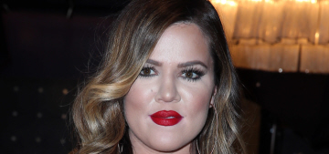"""""""Khloe Kardashian might need to fire her makeup artist & stylist"""" links"""