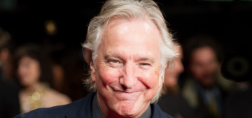 Alan Rickman versus Ralph Fiennes at a UK premiere: who would you rather?
