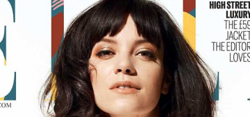 Lily Allen: 'Women are still expected… to sit there & look pretty. And not talk'