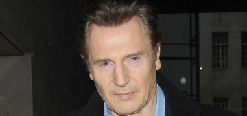 Liam Neeson knows what we need: 'I joined the mile-high club many years ago'