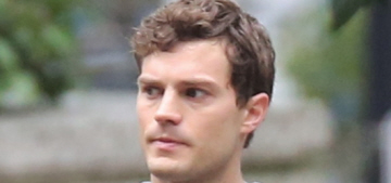Jamie Dornan/Christian Grey goes for a run, first 'Fifty Shades' poster revealed