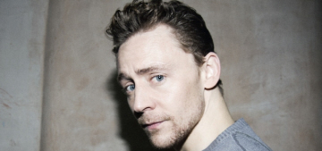Tom Hiddleston: 'I believe in the strength and intelligence and sensitivity of women'