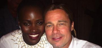 Angelina Jolie thinks Brad Pitt has a crush on Lupita Nyong'o: who doesn't?