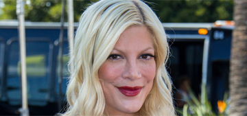 Tori Spelling would love to divorce Dean McDermott, but she can't afford it?