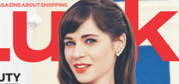 Zooey Deschanel's style rules: 'Daisy Dukes are not for people over 30′