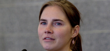 Amanda Knox convicted (for a second time) of murdering Meredith Kercher in Italy