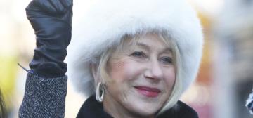 """Dame Helen Mirren got her twerk on at Harvard, like a lady"" links"