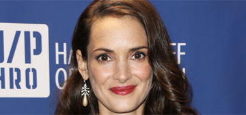 Winona Ryder thinks Johnny Depp & Amber's engagement is 'inappropriate'