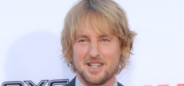 Owen Wilson welcomed his second son, this time with ex Caroline Lindqvist