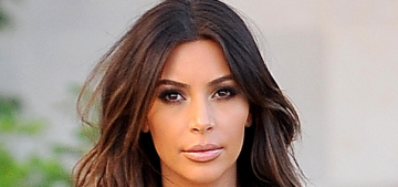 Kim Kardashian finally goes back to brunette: did she do it for a Vogue cover?