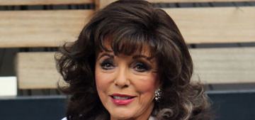 Joan Collins, 80, says she has a lot of sex with her 48 year-old fifth husband (update)