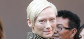 Tilda Swinton charms Berlin with her alien-ferocity: stunning & amazing?