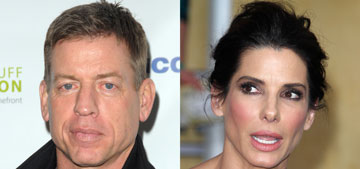 Is Sandra Bullock dating her old flame, Troy Aikman?