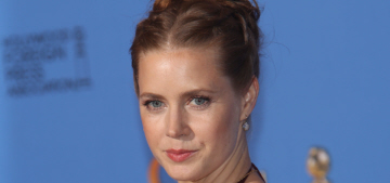 Amy Adams 'appalled' at Valentino's PR email about purse worn at PSH's funeral