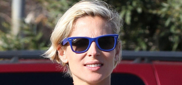 Elsa Pataky shows off some belty maternity style: boho chic or unfortunate?