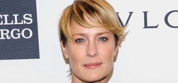 Robin Wright does 'sprinkles' of Botox: 'You bet. Everybody f—king does it.'