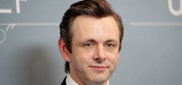 Random couple of the week: Michael Sheen and… Sarah Silverman?  What!?