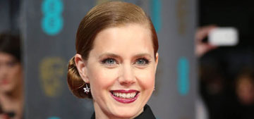 Amy Adams in Victoria Beckham at the BAFTAs: smart or boring?