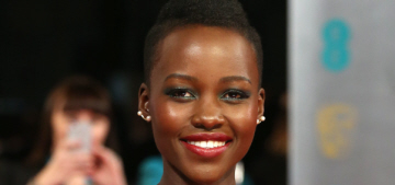 Lupita Nyong'o in green Dior Couture at the BAFTAs: perfection or just too much?