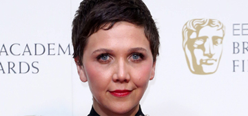 Maggie Gyllenhaal in bedazzled Lanvin at the BAFTAS: worst look of the night?