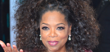 Oprah Winfrey in Stella McCartney at the BAFTAs: beautiful or budget?