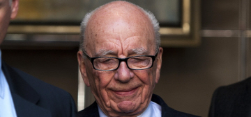 Rupert Murdoch's really mad at Tony Blair after his alleged affair with Wendi Deng