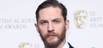 Was Tom Hardy's noticeable weight loss at the BAFTAs for the Elton John bio-pic?