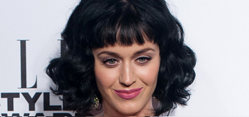 Katy Perry is ELLE's 'Woman of the Year' in Vivienne Westwood: funky or fug?